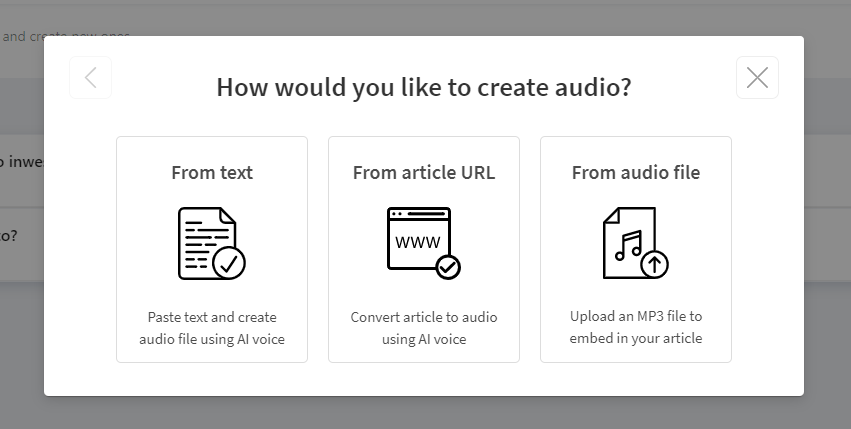metody tworzenia plików audio