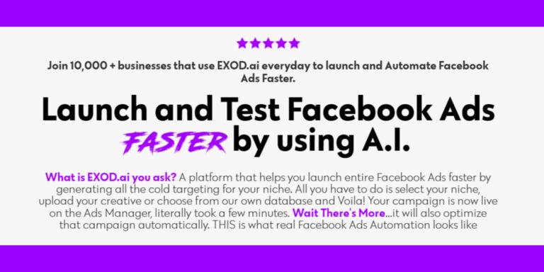 Exod - Kampanie Facebook
