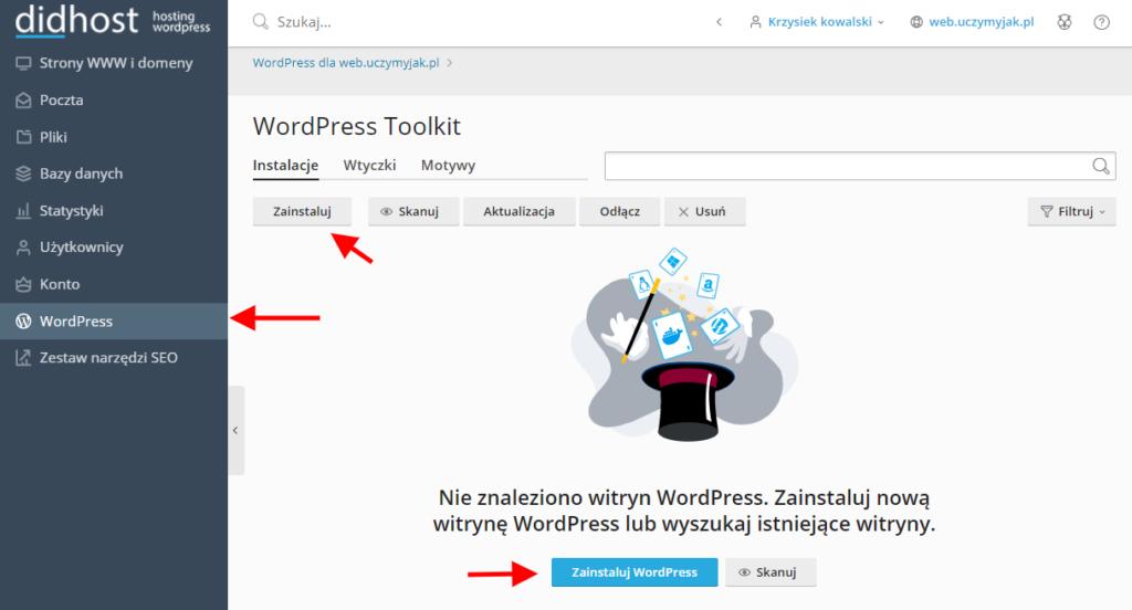 Jak założyć stronę internetową instalując WordPressa