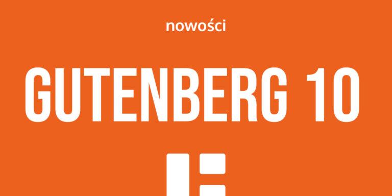 Gutenberg 10