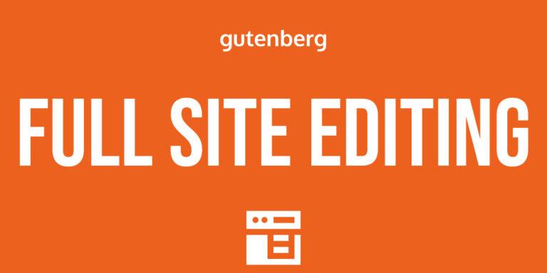 Pełna edycja strony Gutenberg