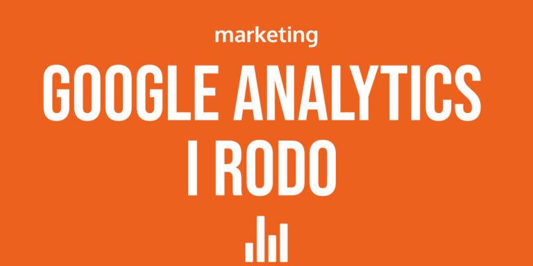 Google Analytics RODO