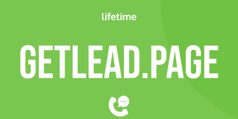 GetLead.page w ofercie lifetime