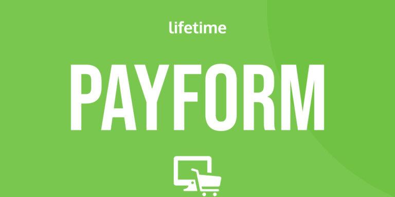 PayForm oferta lifetime