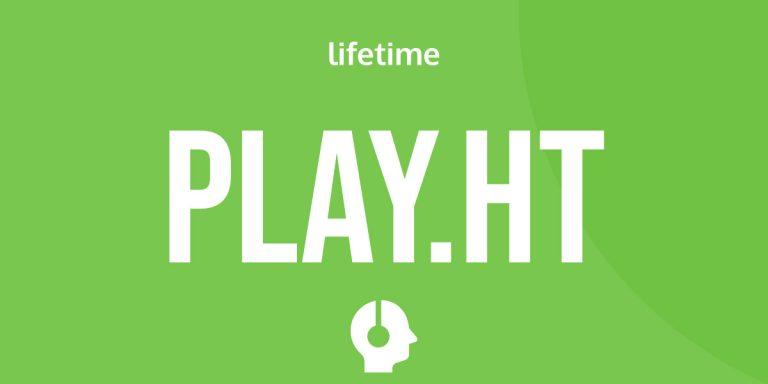 Play.ht lifetime