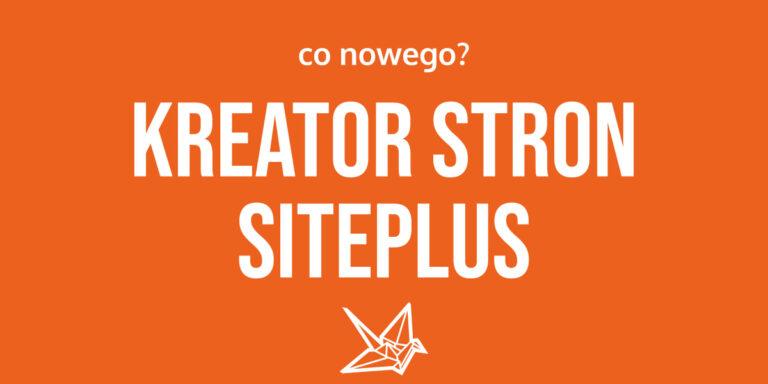 Kreator Stron SitePlus