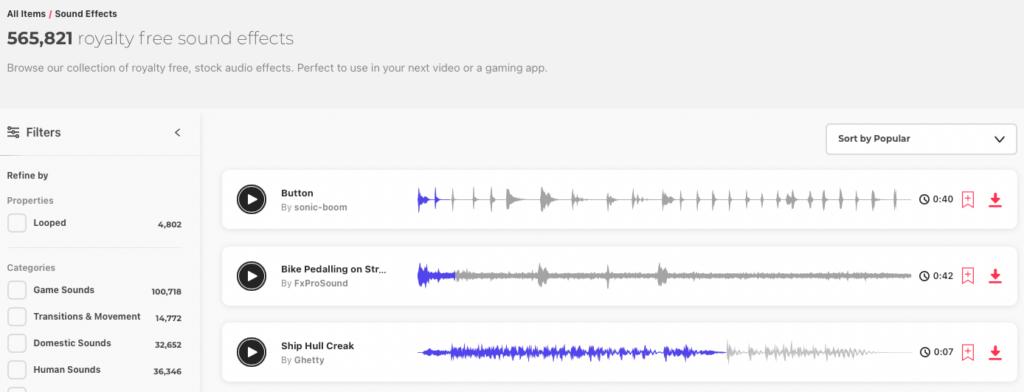 Biblioteka plików audio