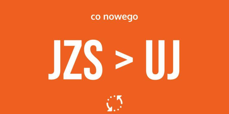 Zmiana domeny! JZS to teraz UJ :)